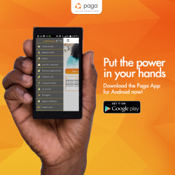Nigerian payment service provider Paga has launched a new app called Paga for Android to bolster it's growing payment service in Nigeria.